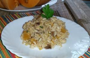 Risotto zucca e funghi, ricetta, cucina preDiletta