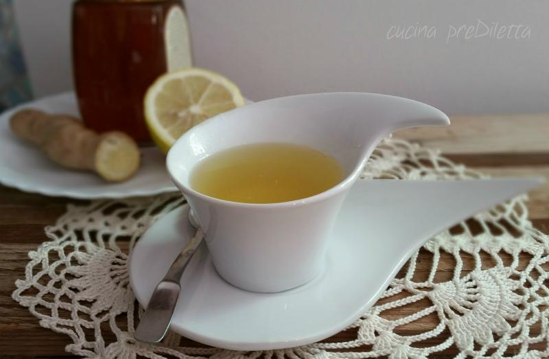 perdita di peso per il tè al limone