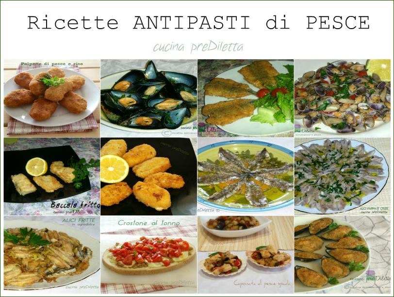 Antipasti di pesce ricette facili le ricette di cucina for Ricette di cucina antipasti