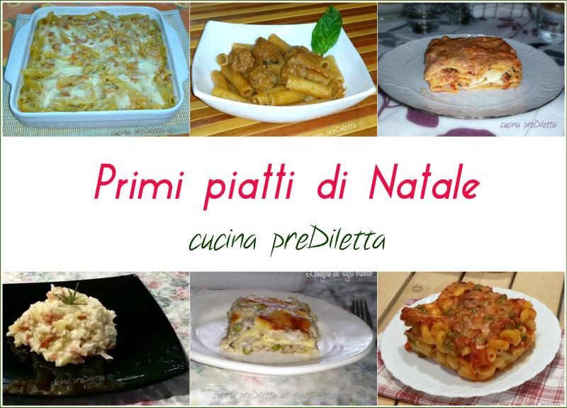 Natale primi piatti cucina prediletta for Primi piatti cucina romana