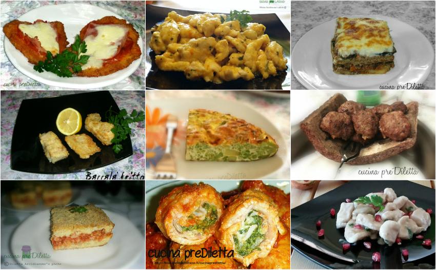 Secondi piatti buffet di Capodanno, ricette, cucina preDiletta