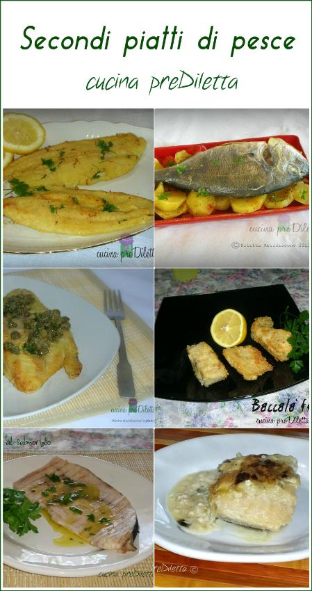Secondi piatti di pesce cucina prediletta for Cucina primi piatti di pesce