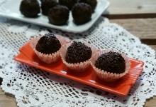 Brigadeiro al cioccolato (dolcetti brasiliani)