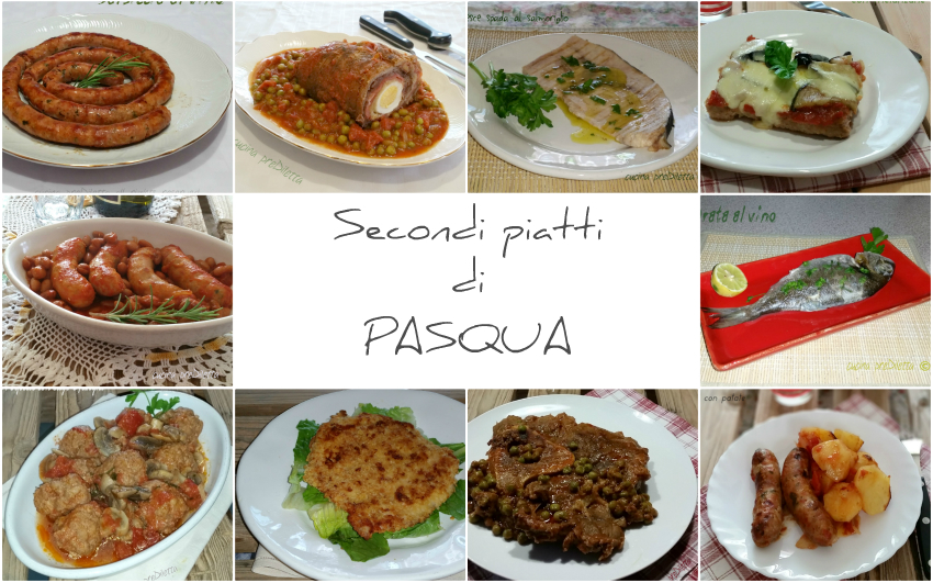 Secondi piatti di pasqua le ricette di cucina prediletta for Secondi piatti ricette