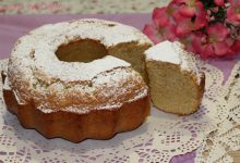 Ciambella alla mandorla (con farina e latte di mandorla)