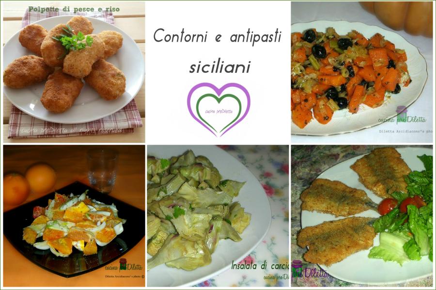 Contorni e antipasti siciliani ricette della tradizione for Cucina antipasti