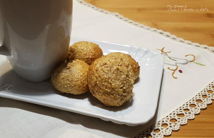 Biscotti con crusca d'avena e di grano