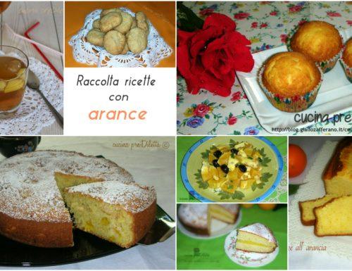 Raccolta ricette con arance
