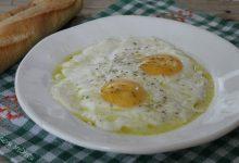 Uova con mozzarella
