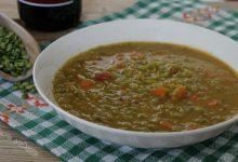 Zuppa di piselli secchi