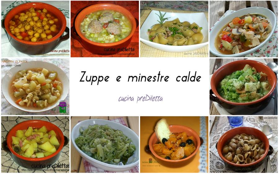 Zuppe e minestre calde