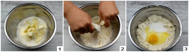 Biscotti per bambini, preparazione 1