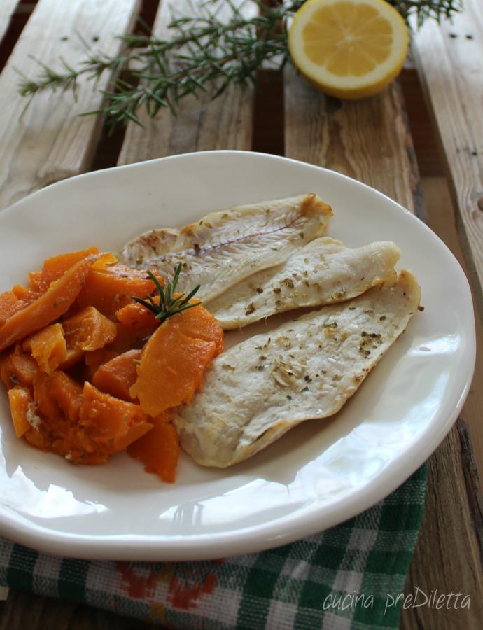 Ricette Orata E Zucca.Filetti Di Pesce Con Zucca Ricetta Dukan Cucina Prediletta