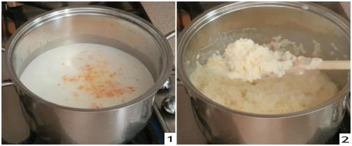 Crispelle di riso catanesi al miele, preparazione