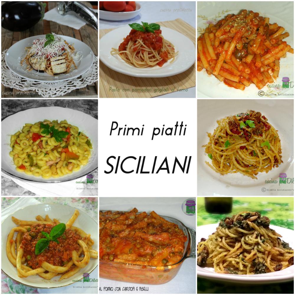 ricette primi piatti siciliani le ricette di cucina