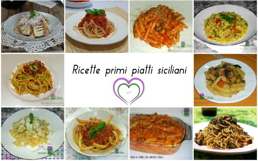 Ricette primi piatti siciliani le ricette di cucina for Primi piatti cucina romana