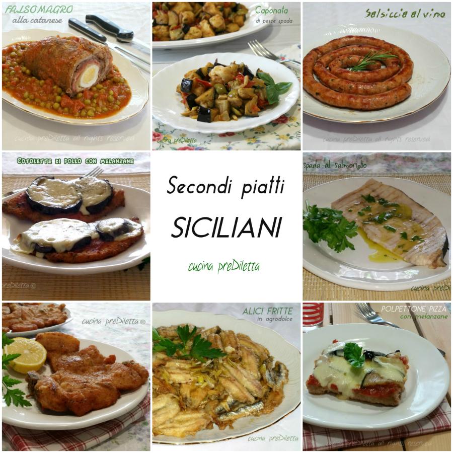 Ricette secondi piatti siciliani le ricette di cucina for Secondi piatti ricette