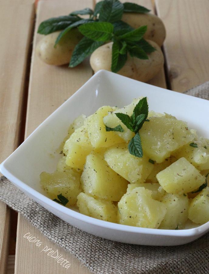 Insalata di patate lesse