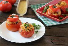 Pomodori ripieni con cuscus e tonno