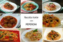 Raccolta ricette con peperoni