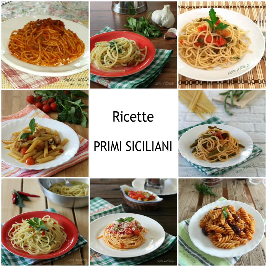 Ricette primi siciliani piatti tradizionali cucina for Ricette italiane primi piatti