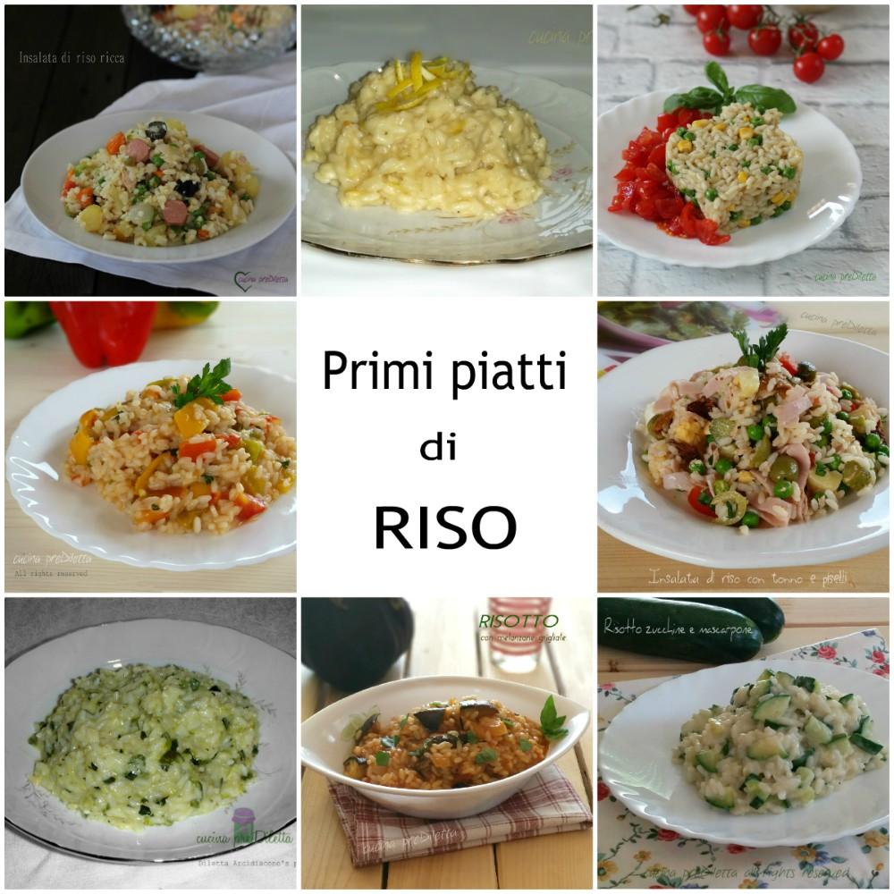 Primi piatti di riso raccolta ricette di cucina prediletta for Ricette di riso