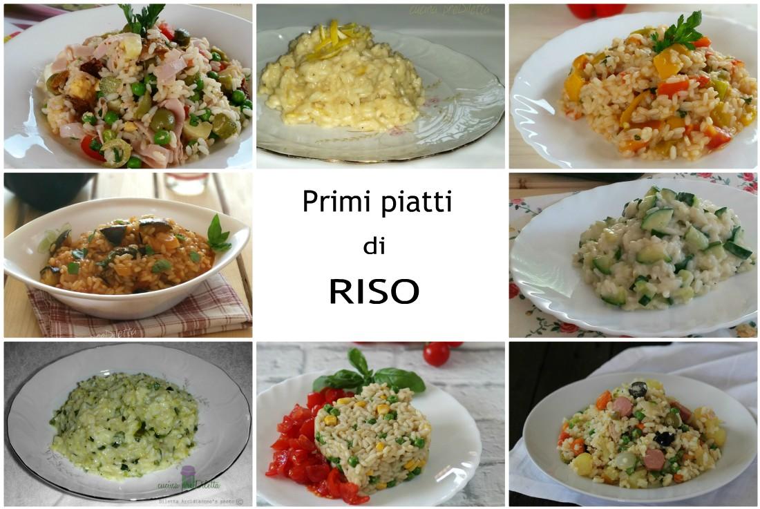 Primi piatti di riso raccolta ricette di cucina prediletta for Ricette di cucina italiana primi piatti