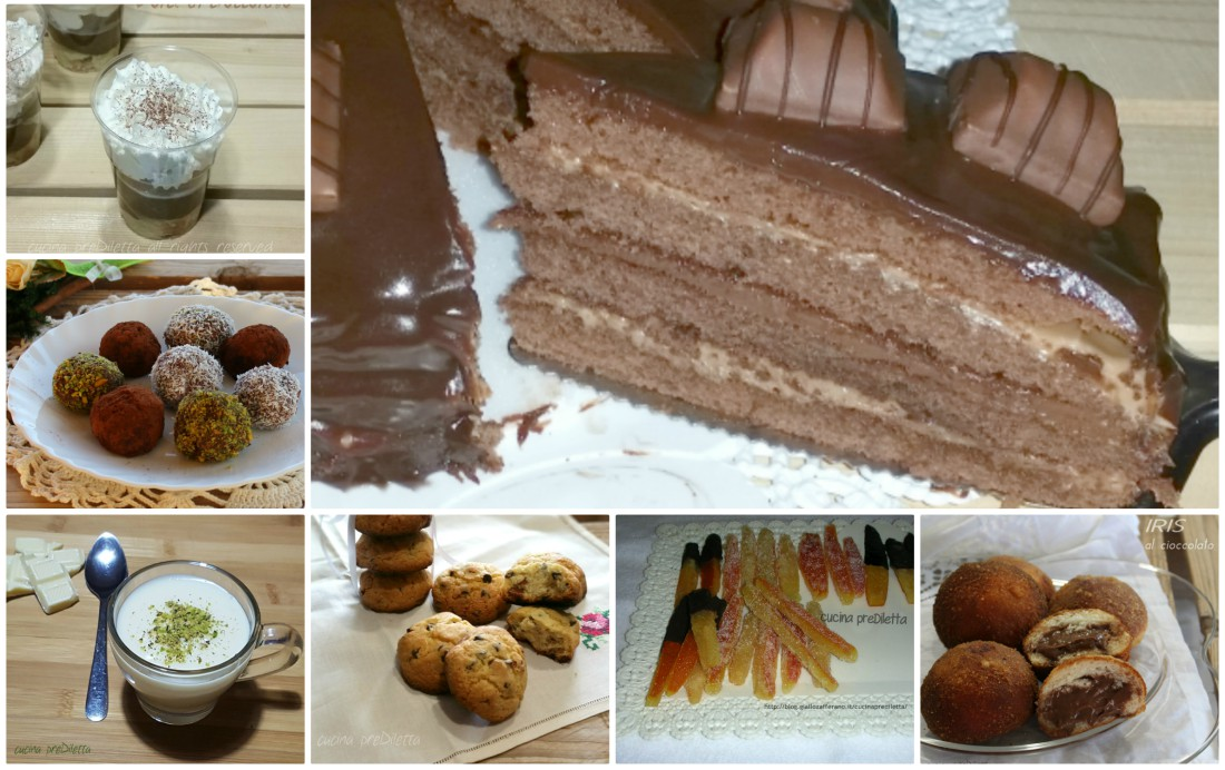 Dolci al cioccolato elenco ricette cucina prediletta - Elenco utensili cucina ...