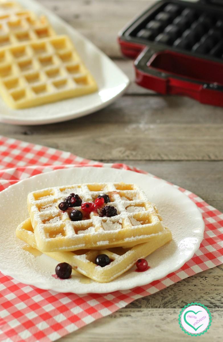 Ricetta Waffle Dolci Giallo Zafferano.Ricetta Waffle Fatti In Casa Cucina Prediletta