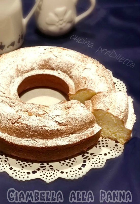 Ciambella con panna fresca la ricetta di cucina prediletta - Differenza panna da cucina e panna fresca ...