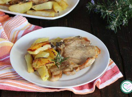 Braciole con patate al forno