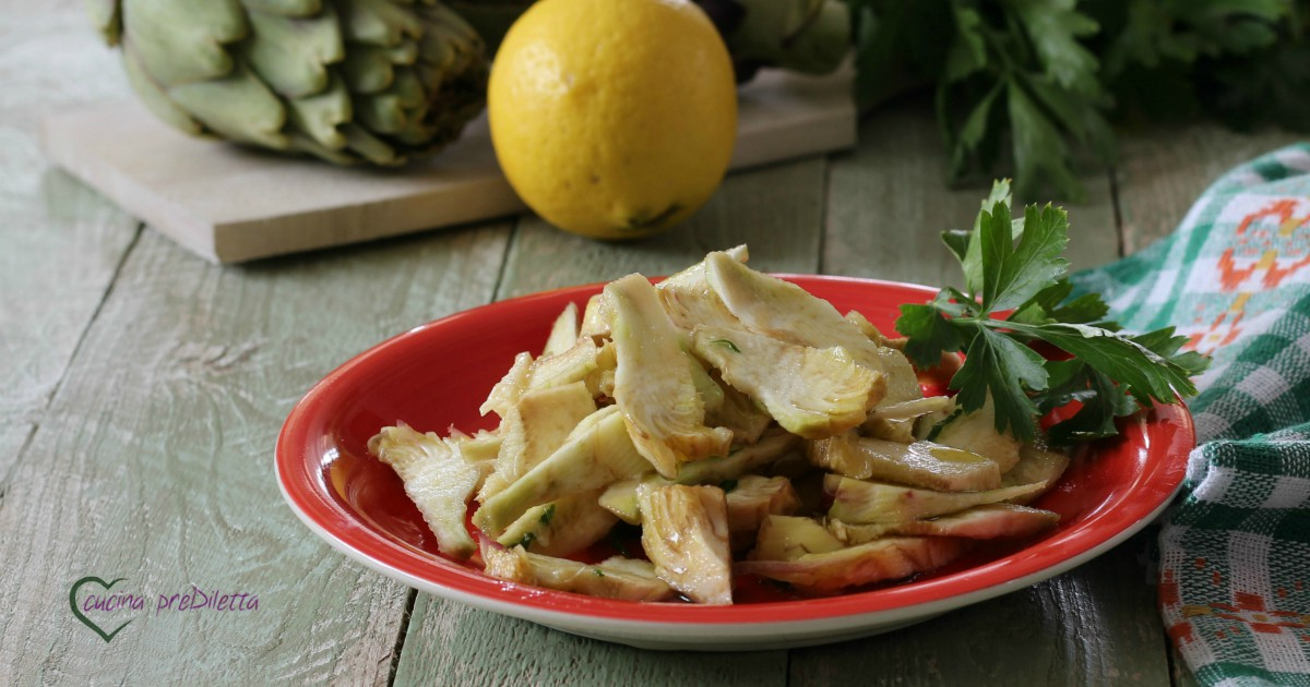 Ricette Carciofi crudi - Le ricette di GialloZafferano