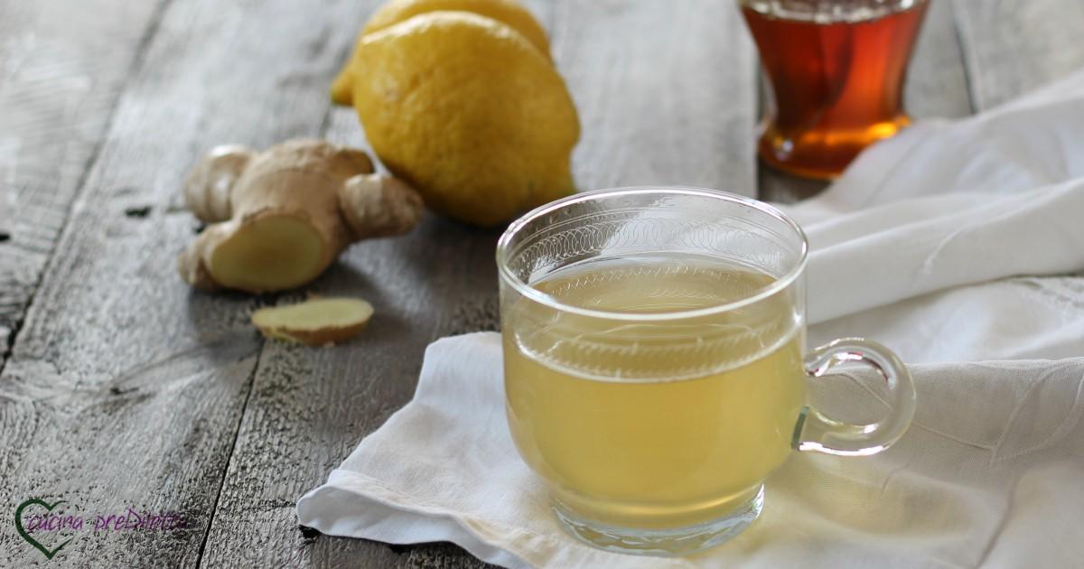 Sciroppo di limone e zenzero rimedio per il mal di gola for Rimedio per il mal di gola