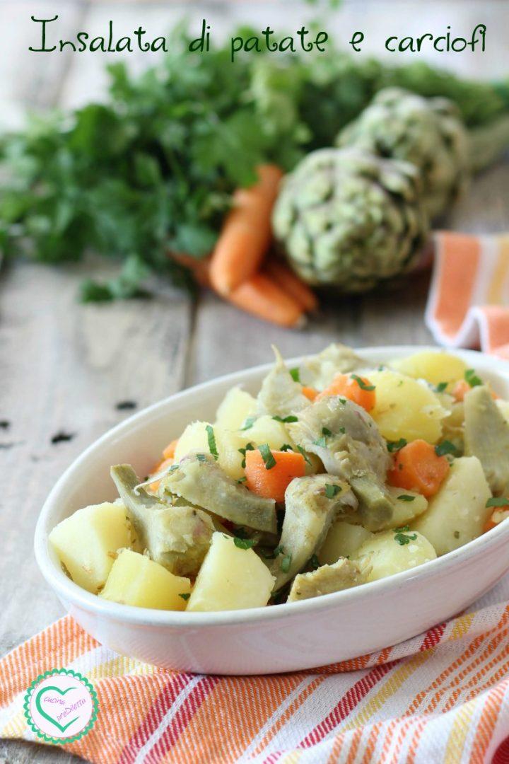 Insalata di patate e carciofi
