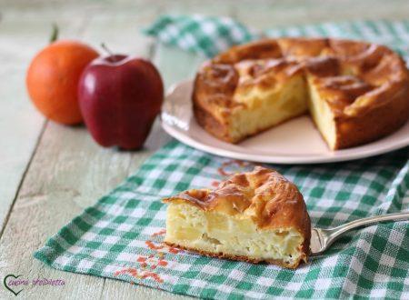 Torta di mele light, senza burro e zucchero
