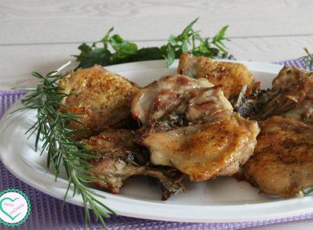 Pollo al forno croccante (simile al pollo fritto)