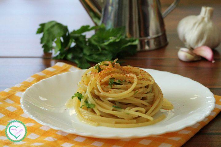 Spaghetti all'aglio e peperoncino