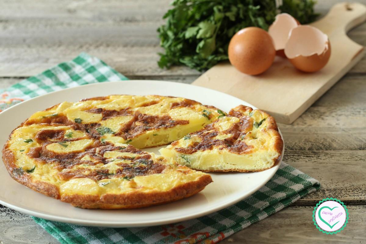 Ricetta Tortillas Patate E Cipolla.Frittata Con Patate E Cipolle La Ricetta Di Cucina Prediletta