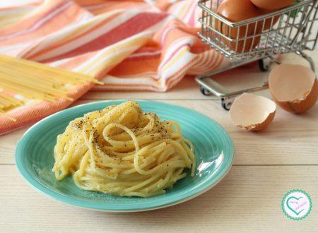 Spaghetti cacio e uova
