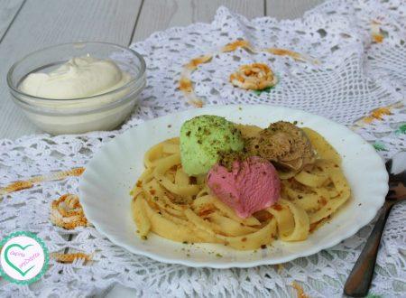 Crespelle con gelato