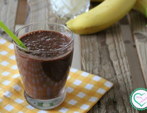 Frullato di banana al cacao