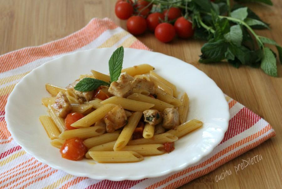 Pasta Con Pesce Spada E Menta Ricetta Siciliana Cucina Prediletta
