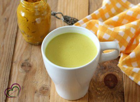 Golden milk - latte d'oro alla curcuma