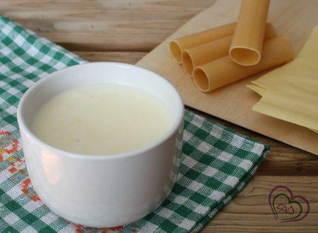 Besciamella per lasagne e cannelloni