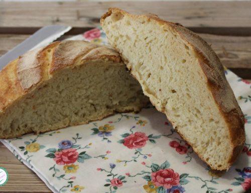 Pane fatto in casa con impasto sempre pronto