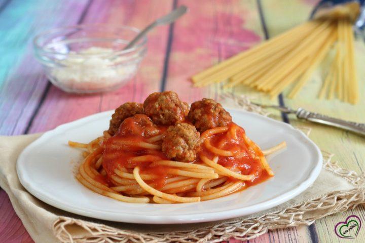 Spaghetti con polpettine alla Lilly e il Vagabondo