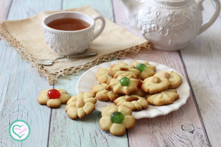 Biscotti con sparabiscotti