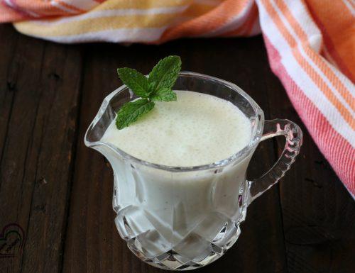 Salsa allo yogurt e menta