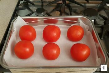 Pomodori al forno, preparazione