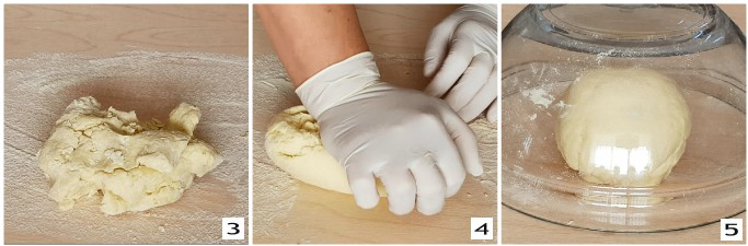 Maccheroni freschi al pistacchio, preparazione 2